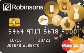 Metrobank Robinsons Mastercard Gold