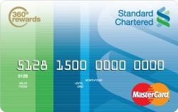 Standard Chartered 360 Rewards Gold Card