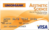 UnionBank Aesthetic Science Credit Card