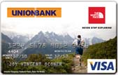 UnionBank The North Face Visa Card