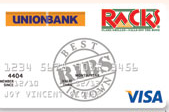 UnionBank Racks Visa Card