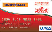 UnionBank San Beda College  Alumni Association Visa Card