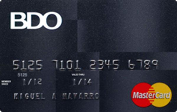 BDO Standard Mastercard
