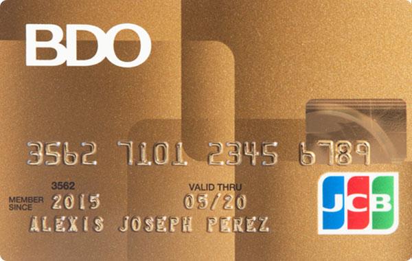 BDO JCB Gold