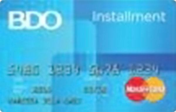 BDO Installment Card