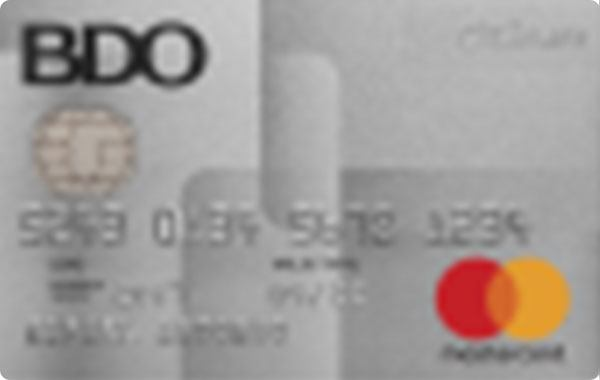 BDO Platinum Mastercard
