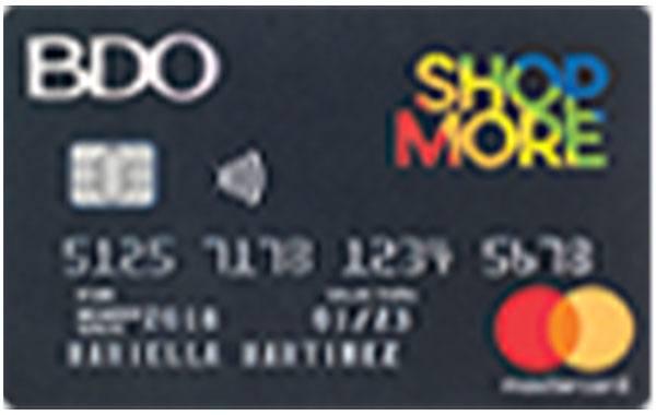 BDO ShopMore Mastercard