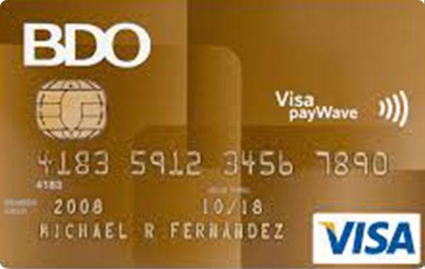 BDO Visa Gold