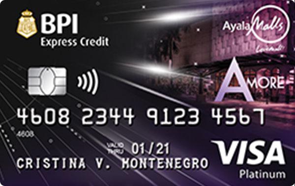 BPI Amore Visa Platinum