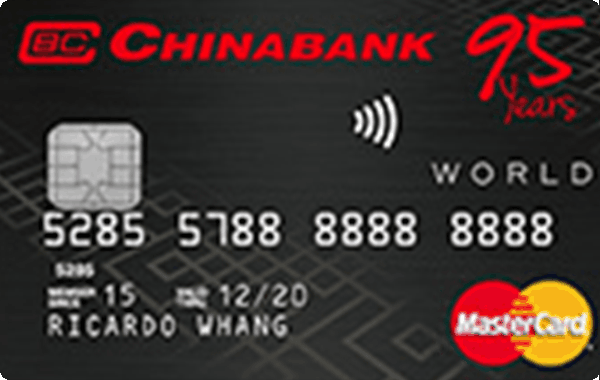 China Bank World Mastercard