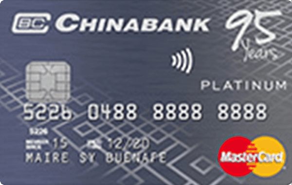 China Bank Platinum Mastercard