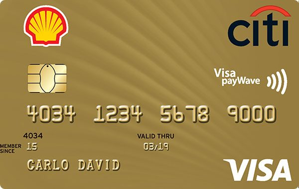 Shell Citi Card