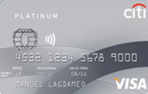 Citi Platinum Visa