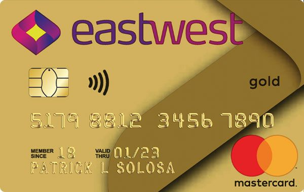 EastWest Bank Visa/Mastercard Gold