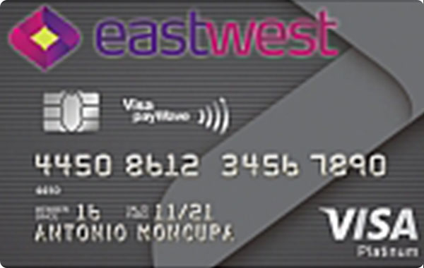 EastWest Visa Platinum Credit Card