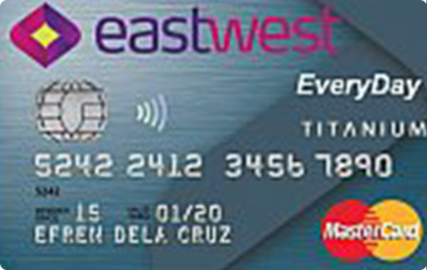 EastWest EveryDay Titanium Mastercard