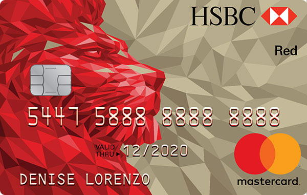 HSBC Red Mastercard
