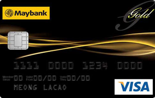 MayBank Visa Gold