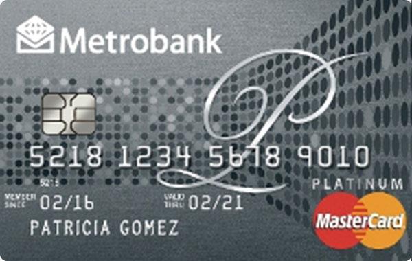 Metrobank Peso Platinum Mastercard