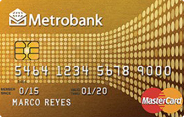 Metrobank Gold Card