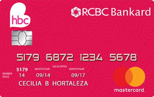 RCBC Bankard HBC Mastercard
