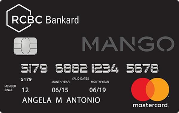 RCBC Bankard Mango Mastercard