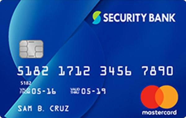Security Bank Mastercard Classic