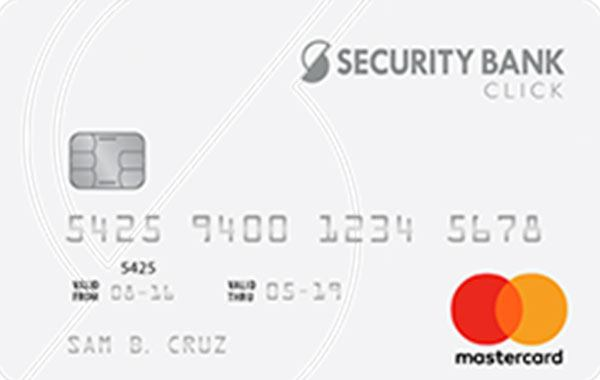 Security Bank Click Mastercard