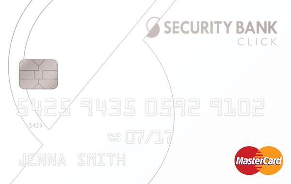 Security Bank Click Mastercard