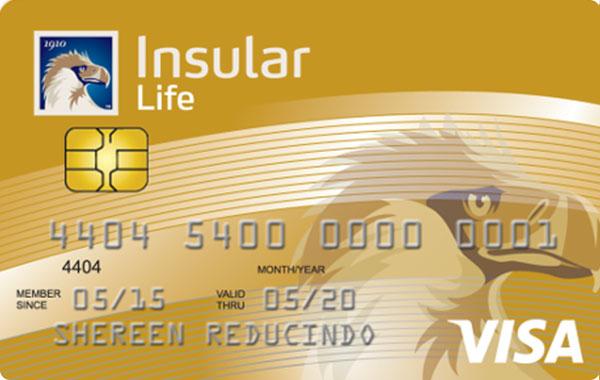 UnionBank Insular Life Visa Card