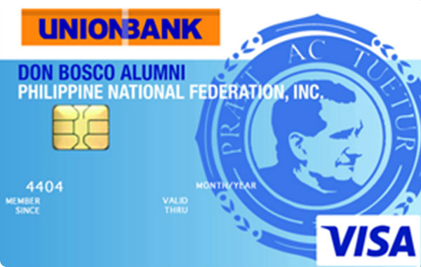 UnionBank Don Bosco Alumni Association Visa Card