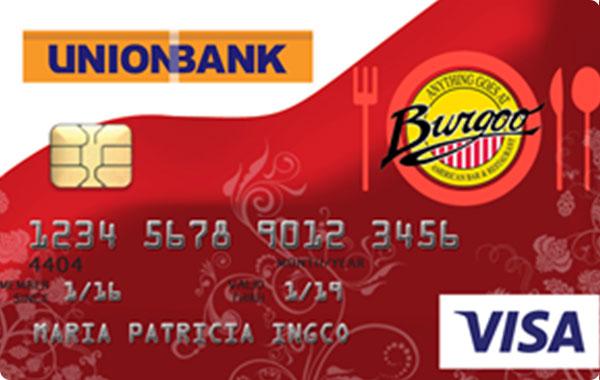 UnionBank Burgoo Visa Card