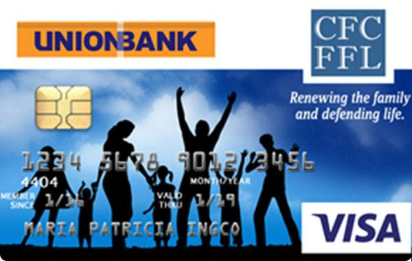 UnionBank Couples for Christ Foundation for Family and Life Visa Card
