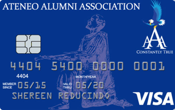UnionBank Ateneo Alumni Association Visa Card
