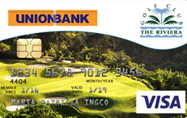 UnionBank Riviera Golf Club Visa Card