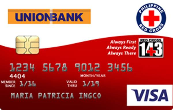UnionBank The Philippine Red Cross Visa Card