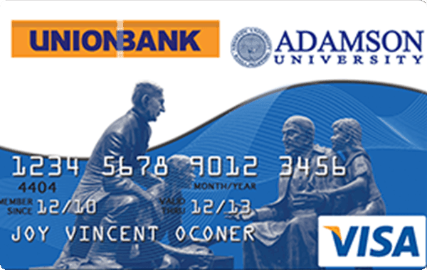 UnionBank Adamson University Credit Card