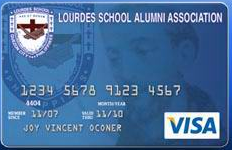 UnionBank Lourdes School Alumni Association Credit Card