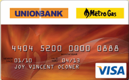 UnionBank Metro Gas Credit Card
